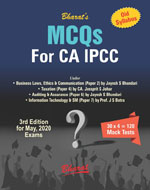MCQs for CA IPCC on Business Laws, Ethics & Communication; Taxation; Auditing & Assurance;Information Technology & Strategic Management