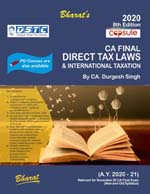Capsule Studies on DIRECT TAX LAWS & International Taxation (A.Y. 2020-21) [Concessional Price Rs. 1175 upto 31st July only] [MRP Rs. 1550] (Colourful Edition)