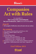 COMPANIES ACT, 2013 with RULES (Pkt edn.)
