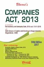 Buy COMPANIES ACT, 2013 with SEBI (Issue of Capital and Disclosure Requirements) Regulations, 2009 (Pocket/HB)