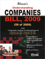 Buy Understanding COMPANIES BILL, 2009