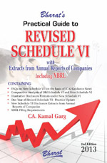 Buy Practical Guide to REVISED SCHEDULE VI with Extracts from Annual Reports of Companies including XBRL