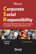 Buy CORPORATE SOCIAL RESPONSIBILITY with Companies (Corporate Social Responsibility Policy) Rules, 2014