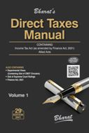 DIRECT TAXES MANUAL in 3 Volumes