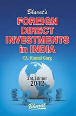 Buy FOREIGN DIRECT INVESTMENTS in INDIA (with FREE web-download of PowerPoint Presentation on FEMA)