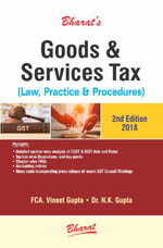 GOODS & SERVICES TAX Law, Practice & Procedures