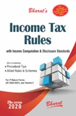 INCOME TAX RULES with Return Forms for A.Y. 2020-21 (In 2 Volumes)