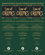 Buy Law of CRIMES (in 3 Volumes)