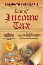 Buy Sampath Iyengar's Law of INCOME TAX (In 9 vols.) [Complete Set Ready] [Vol. 9: Containing Commentary on Wealth Tax Act, 1957]