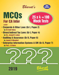 MCQs for CA Inter on CORPORATE & OTHER LAWS; DIRECT/INDIRECT TAX LAWS; AUDITING & ASSURANCE; ENTERPRISE INFORMATION SYSTEMS & SM