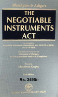 Buy Negotiable Instruments Act (As amended by The Negotiable Instruments (Amendment) Act, 2018, w.e.f. 1-9-2018)