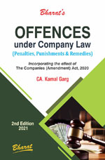 OFFENCES under Company Law (Penalties, Punishments & Remedies)