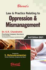 Law & Practice Relating to OPPRESSION & MISMANAGEMENT — Minority Shareholders' Remedies