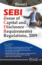 Buy SEBI (Issue of Capital and Disclosure Requirements) Regulations, 2009