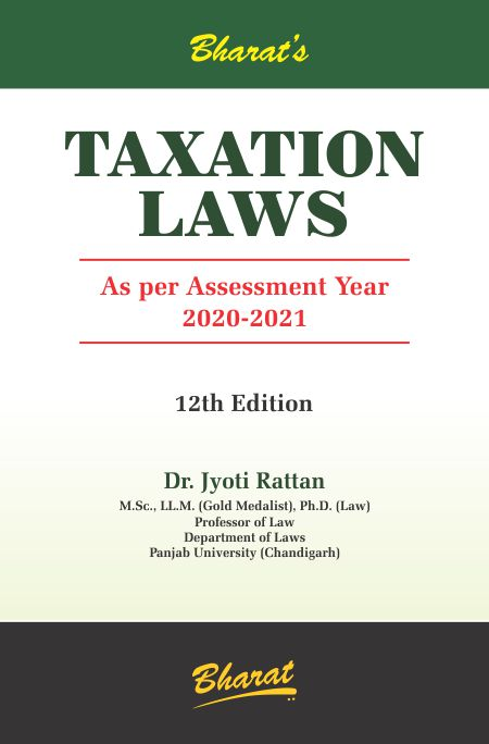 Buy TAXATION LAWS